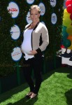 Pregnant Kendra Wilkinson Safe Kids Day in Los Angeles
