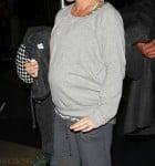 Pregnant Kendra Wilkinson at LAX