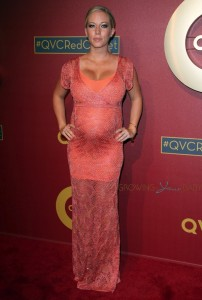 Pregnant Kendra Wilkinson attends 5th Annual QVC Red Carpet Style event