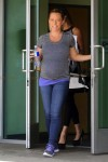 Pregnant Kendra Wilkinson out in Los Angeles