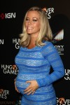 Pregnant Kendra Wilkinson red carpet Hunger Games premiere