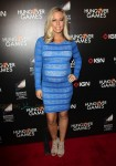 Pregnant Kendra Wilkinson red carpet Hunger Games premiere LA