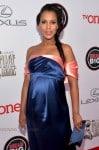 Pregnant Kerry Washington - 45th NAACP Image Awards, Pasadena