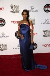 Pregnant Kerry Washington at the 45th NAACP Image Awards
