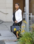 Pregnant Kim Kardashian Lunches With Friends in Beverly Hills