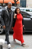 Kim Kardashian & Kanye West In Paris