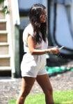 Pregnant Kourtney Kardashian in the Hamptons