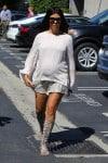 Pregnant Kourtney Kardashian out in LA