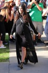 Pregnant Kourtney Kardashian shopping at Bel Bambini
