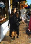 Pregnant Kourtney Kardashian shopping at Bel Bambini in LA