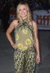 Pregnant Kristen Bell @ the Toronto International Film Festival