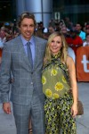 Pregnant Kristen Bell and husband Dax Shepard the Toronto International Film Festival