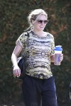 Pregnant Kristen Bell out in  LA