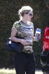 Pregnant Kristen Bell out in LA