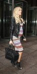 Pregnant Kristin Cavallari leaves Sirius Radio in NYC