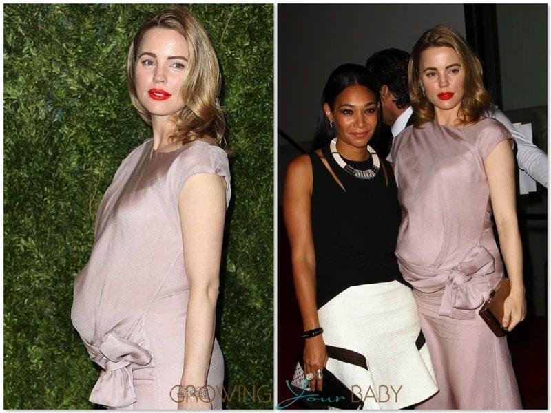 Pregnant Melissa George at Vogue Fashion Fund Awards