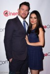Pregnant Mila Kunis & Channing Tatum on the red carpet at CinemaCon 2014