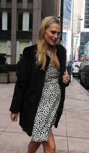 Pregnant Molly Sims out in New York City