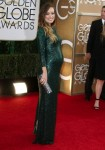 Pregnant Olivia Wilde at the 71st annual Golden Globe awards