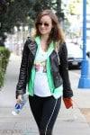 Pregnant Olivia Wilke stays fit in LA