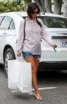 Pregnant Rachel Bilson  Shops in LA