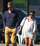 Pregnant Rachel Bilson and Hayden Christensen out in LA