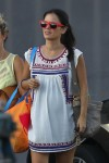 Pregnant Rachel Bilson out in LA