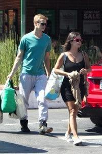 Pregnant Rachel Bilson out in LA with boyfriend Hayden Christensen