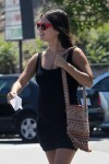 Pregnant Rachel Bilson out shopping in LA
