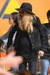 Pregnant Rachel Zoe  at the pumpkin Patch in LA