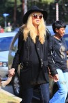 Pregnant Rachel Zoe at the pumpkin Patch in LA