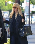Pregnant Rachel Zoe out for Halloween 13