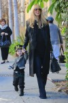 Pregnant Rachel Zoe out with son Skyler for Halloween