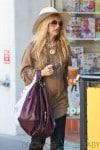 Rachel Zoe Hides Her Baby Bump Under a Flowy Blouse