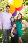 Pregnant Soleil Moon Frye & Jason Goldberg with their girls Poet and Jagger at her book release Party