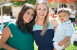 Pregnant Soleil Moon Frye and Melissa Joan Hart at her book release Party