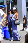 Pregnant Stacy Keibler and hubby Jared Pobreseen out in LA