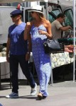 Pregnant Stacy Keibler & hubby Jared Pobreseen out in LA