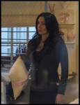 Pregnant Tamara Ecclestone out shopping for baby in London