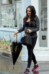 Pregnant Tamara Ecclestone shops for baby in London