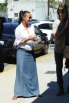 Pregnant Zoe Saldana &  husband Marco Perego out in LA