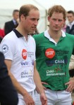 Prince William, Prince Harry  playing polo at Cirencester Park Polo Club in Cirencester, United Kingdom