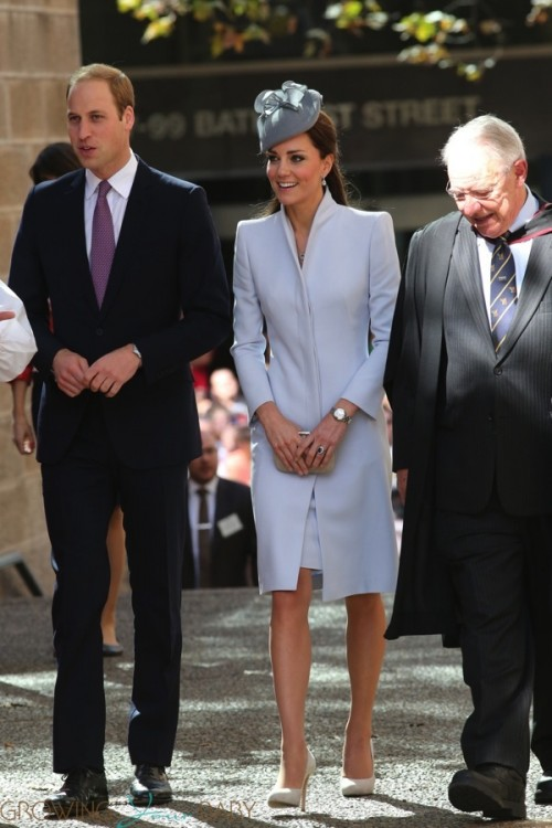Prince William and Kate attend Easter Service in Sydney