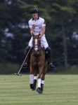 Prince William playing polo at Cirencester Park Polo Club in Cirencester, United Kingdom