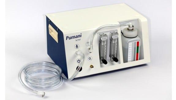 Pumani breathing system