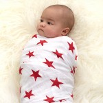 (RED) Special Edition classic swaddles