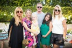 Rachel Zoe, Rebecca Gayheart, Eric Dane and Kelly Sawyer at Soleil Moon Frye's book release Party