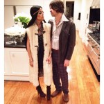 Rachel Zoe and Roger Berman dressed as Sonny and Cher