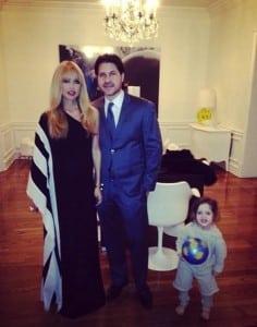 Rachel Zoe and Roger Berman with their son Skyler