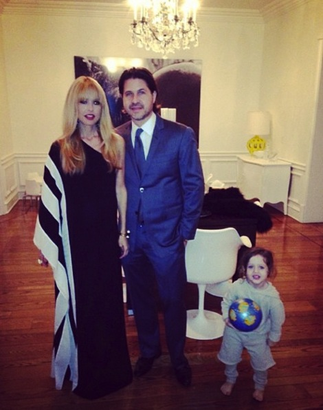 Rachel Zoe and Roger Berman with their son Skyler